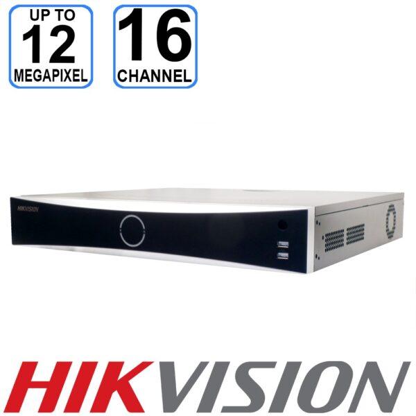 Hikvision 16 channel 4K DeepinMind NVR - IDS-7716NXI-I4/X(B)
