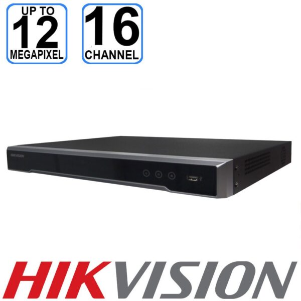 Hikvision 12MP 16 Channel NVR - DS-7616NI-I2/16P