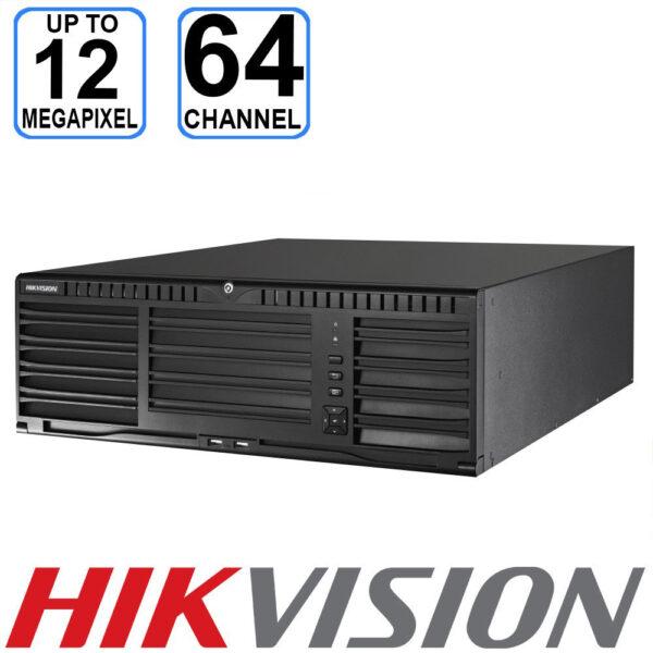 Hikvision 64 channel 3U 4K Super NVR - DS-96064NI-I16