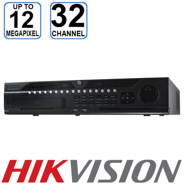 Hikvision 32 Channel Up to 12MP NVR - DS-9632NI-I8