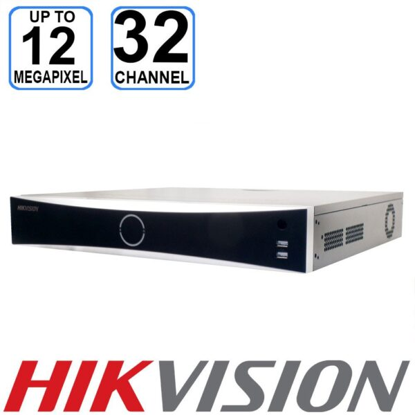 HIKVISION 32 channel DeepinMind Network Video Recorder - IDS-7732NXI-I4/16P/16S(B)