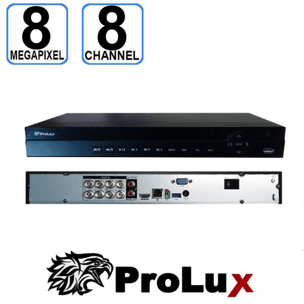 8 Channel DVR Recorder 4K Penta-Brid POC Mini DVR