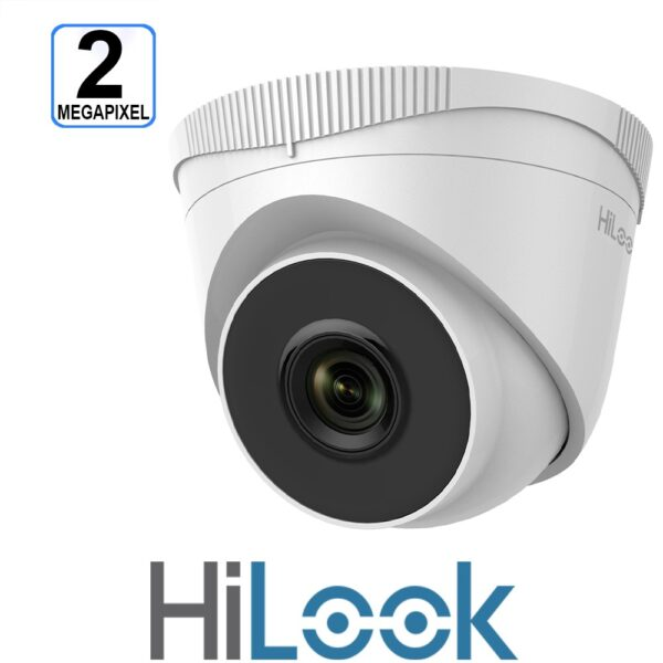 HiLook IP 2MP 30m Turret Dome 2.8mm - IPC-T221H-2.8MM